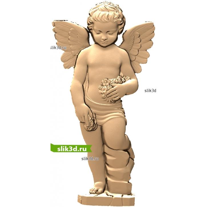 3D STL Ангел №17