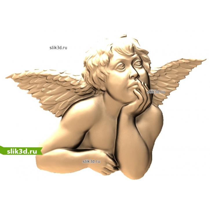 3D STL Ангел №15