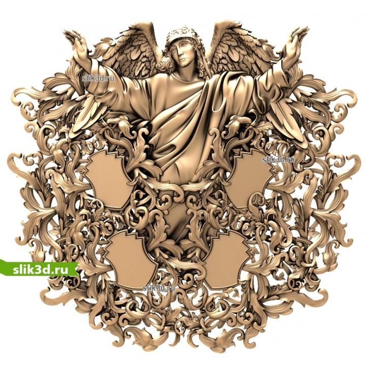3D STL Ангел №18