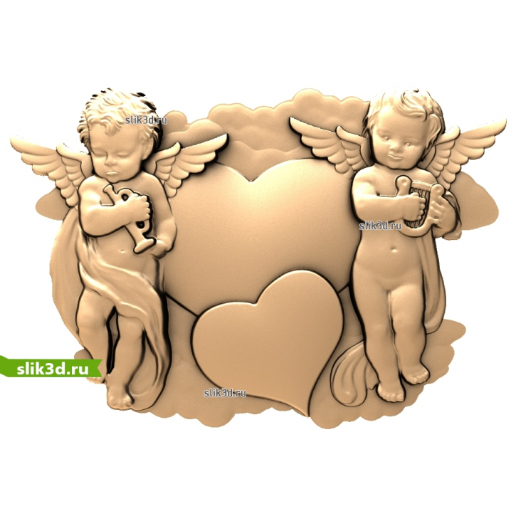 3D STL Ангел №27