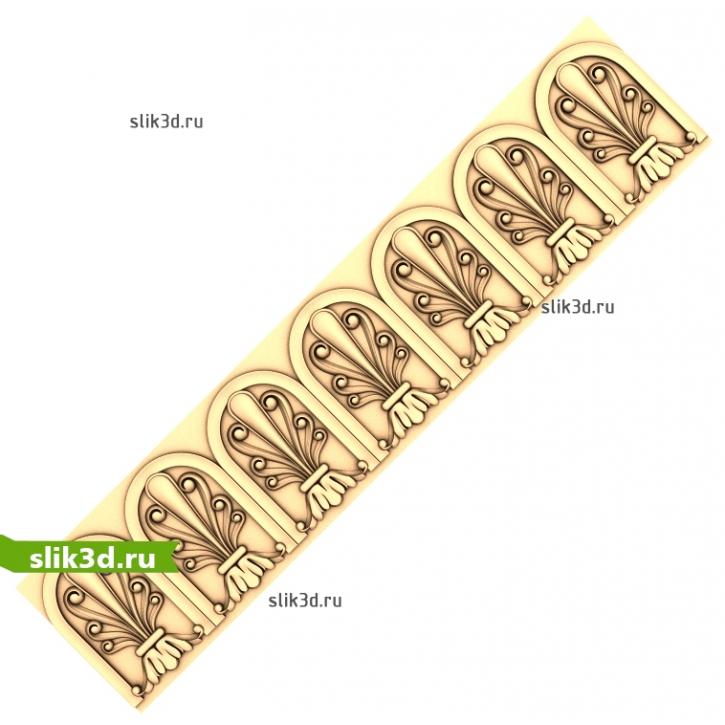 3D STL Багет №91