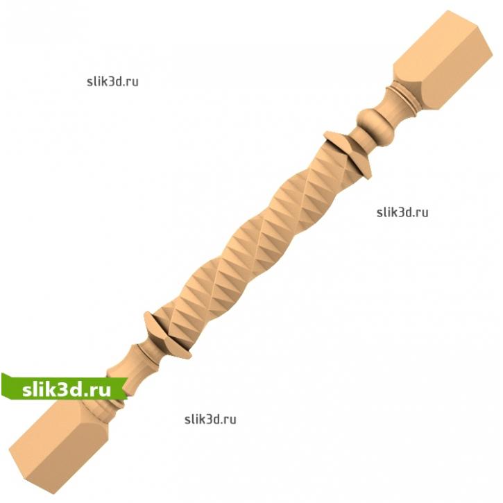 3D STL Балясина №14