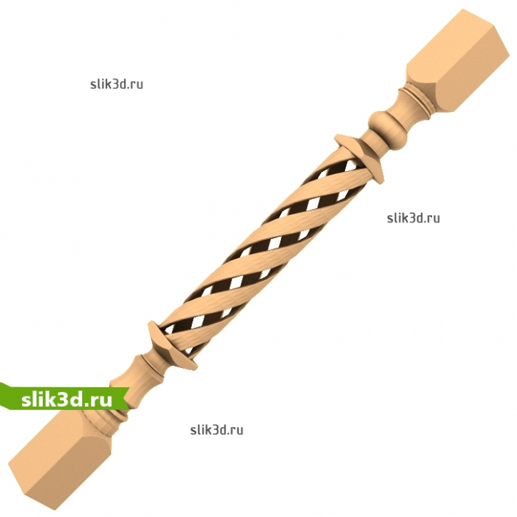 3D STL Балясина №15