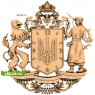 3D STL Герб Украины