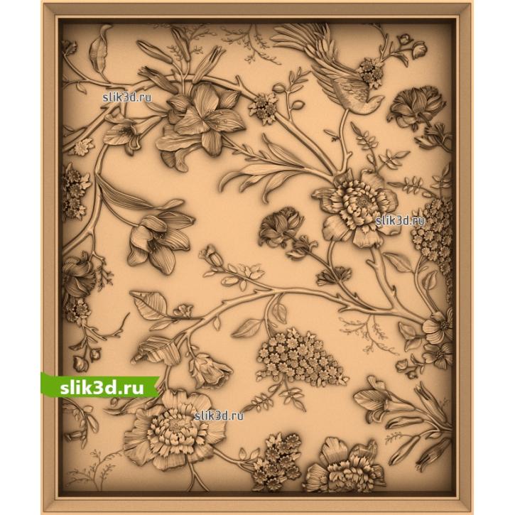 3D STL Цветы №24