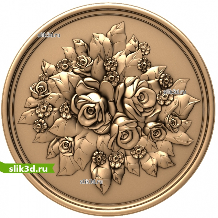 3D STL Цветы №29