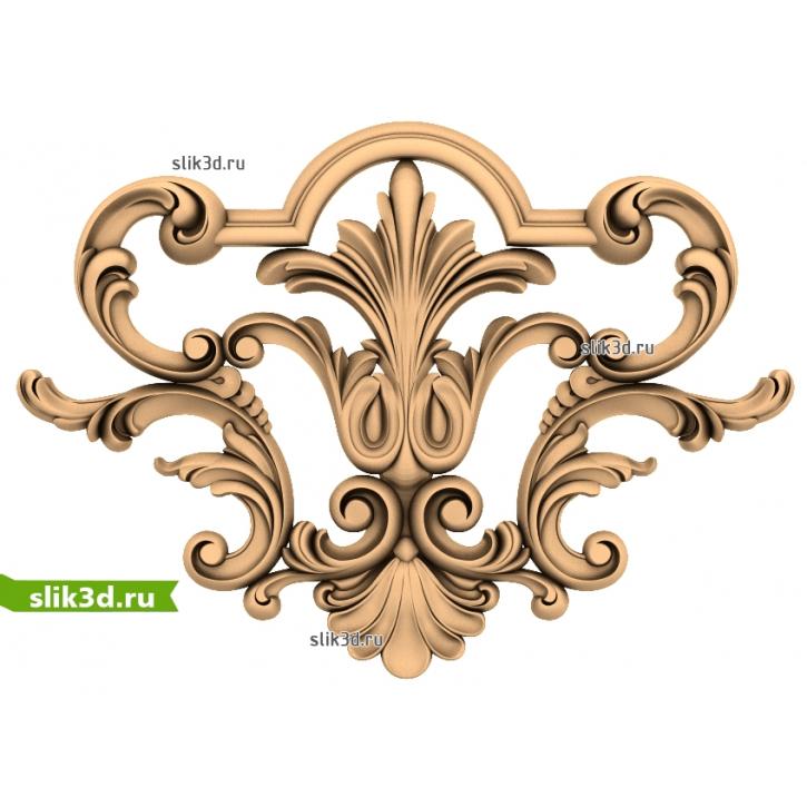 3D STL Центральный Декор №15