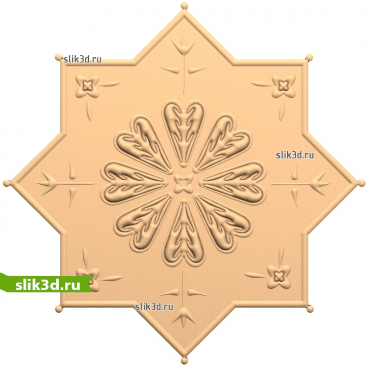 3D STL Декор №100