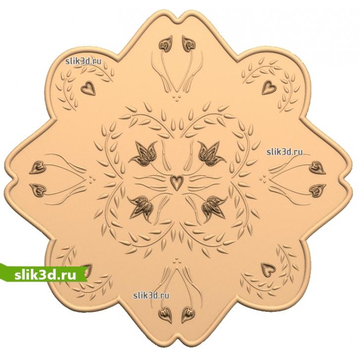 3D STL Декор №115