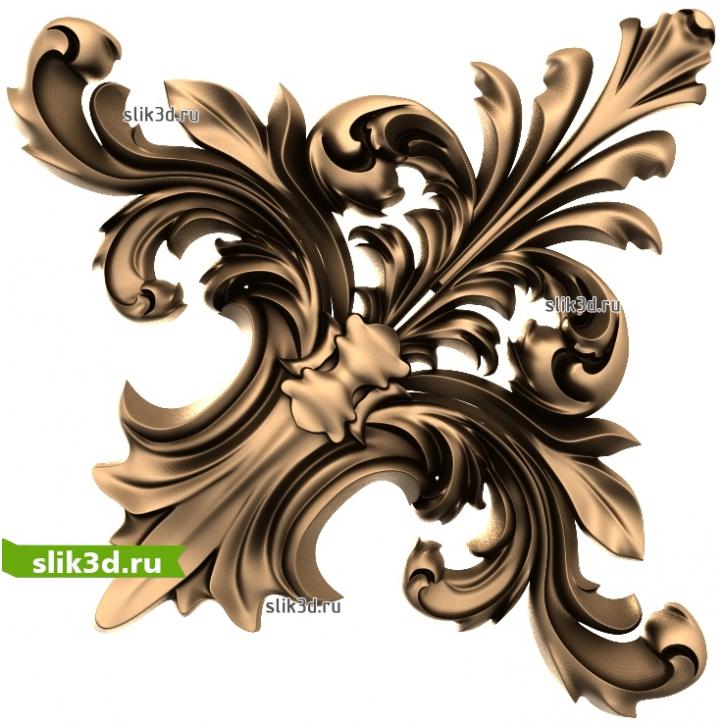3D STL Декор №206