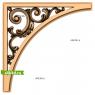 3D STL Угловой Декор №14
