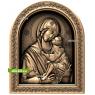 3D STL Богородица №12
