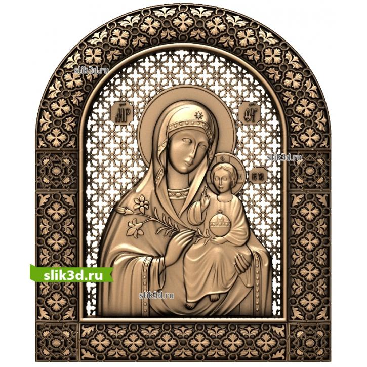 3D STL Богородица №13