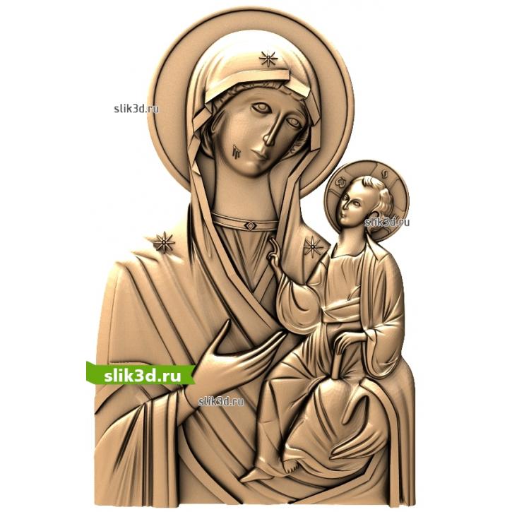 3D STL Божья Матерь Иверская №13