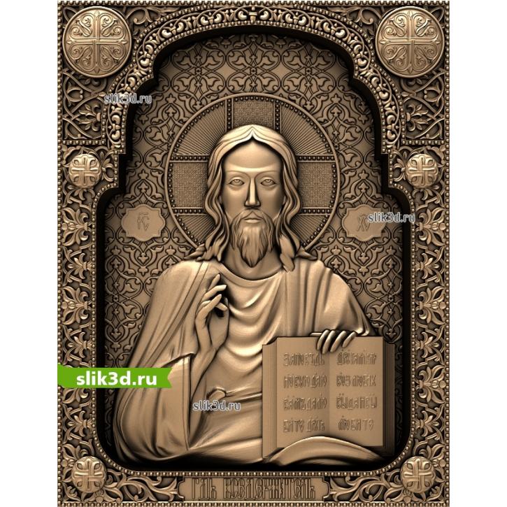 3D STL Господь Вседержитель №16