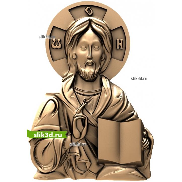 3D STL Иисус №12