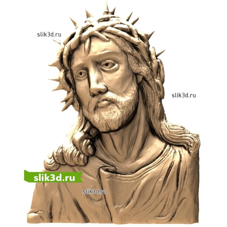 3D STL Иисус №13