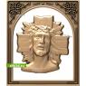 3D STL Иисус №14