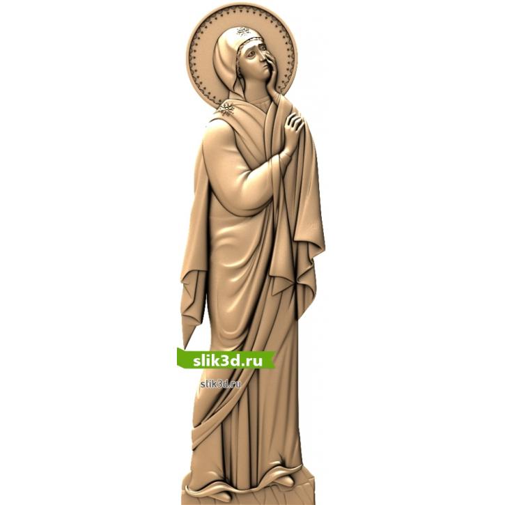 3D STL Божья Матерь У Распятия