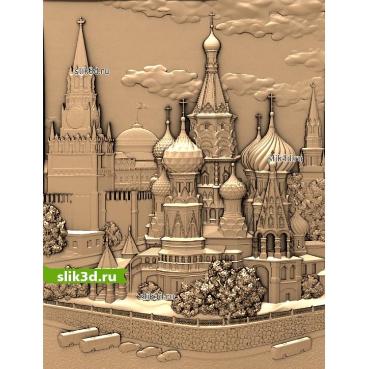 3D STL Покровский Собор