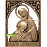 3D STL Святой Пётр И Святая Феврония №12