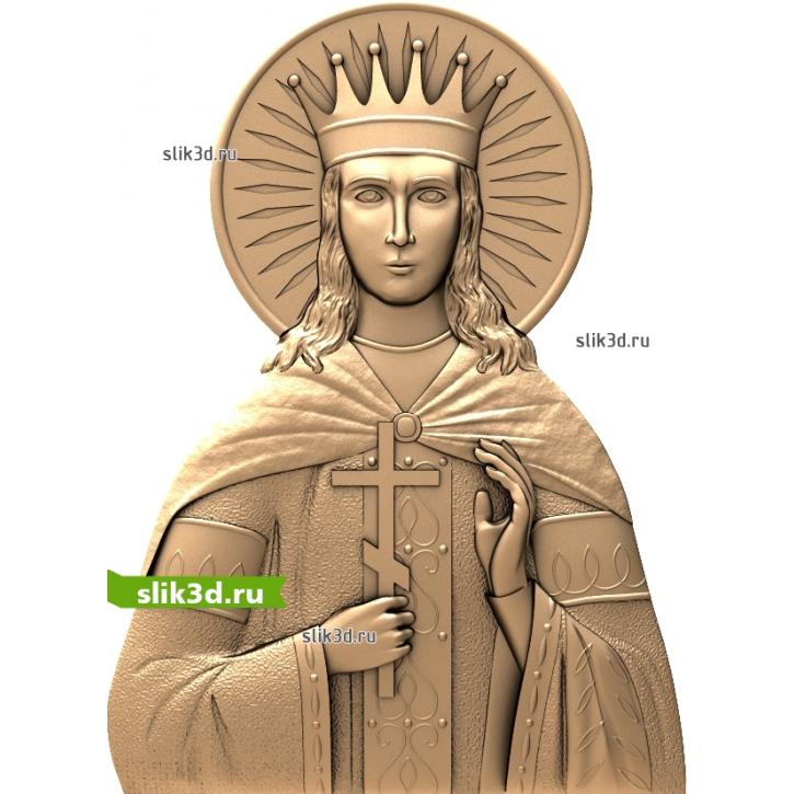 3D STL Святая Екатерина