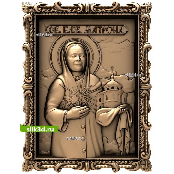 3D STL Святая Матрона №15