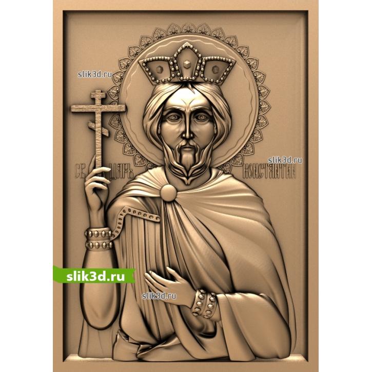 3D STL Святой Константин