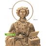 3D STL Святой Пантелеймон №12