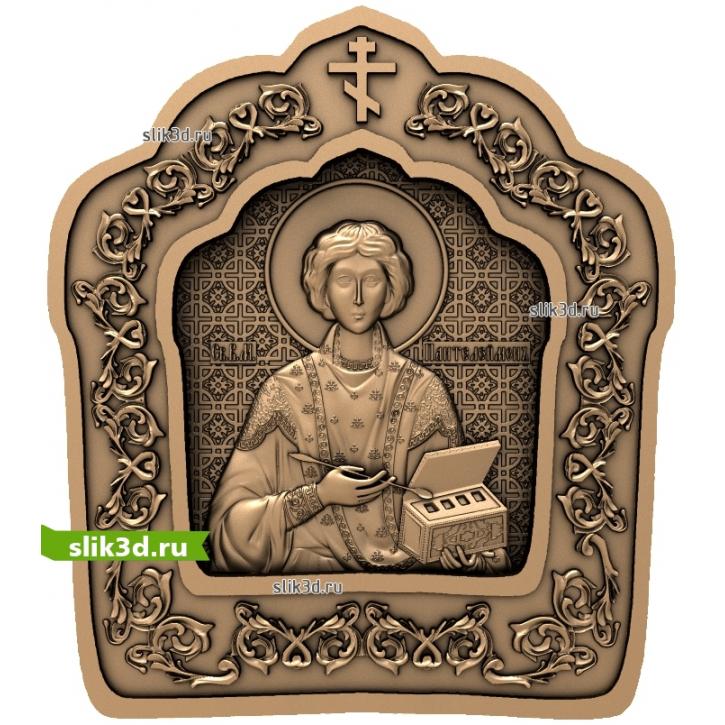 3D STL Святой Пантелеймон №13