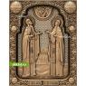 3D STL Святой Пётр И Святая Феврония №13