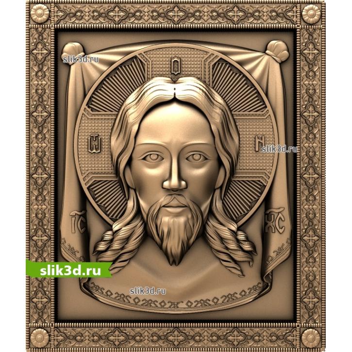 3D STL Спас Нерукотворный №13