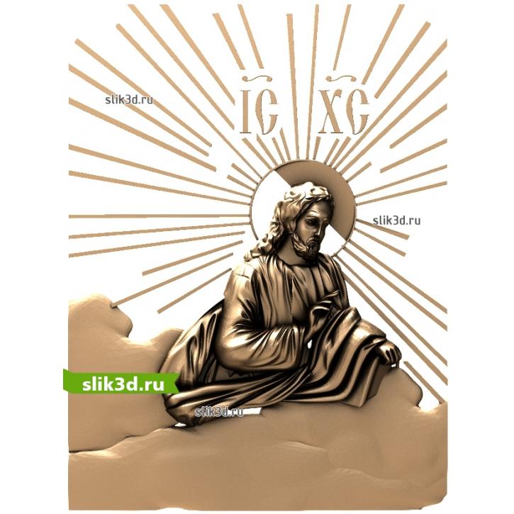 3D STL Иисус №16