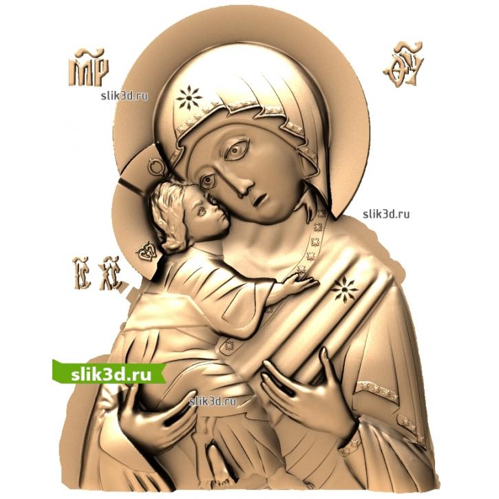 3D STL Богородица №16