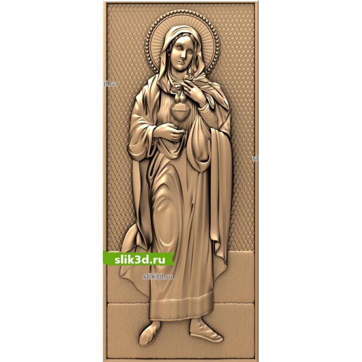 3D STL Святая Мария