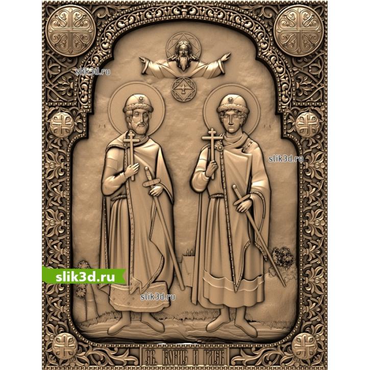 3D STL Святой Борис И Святой Глеб