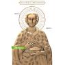 3D STL Святой Пантелеймон №15