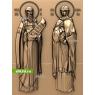 3D STL Святой Пётр И Святая Феврония №14