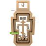 3D STL Крест №13