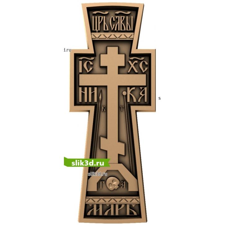 3D STL Крест №23
