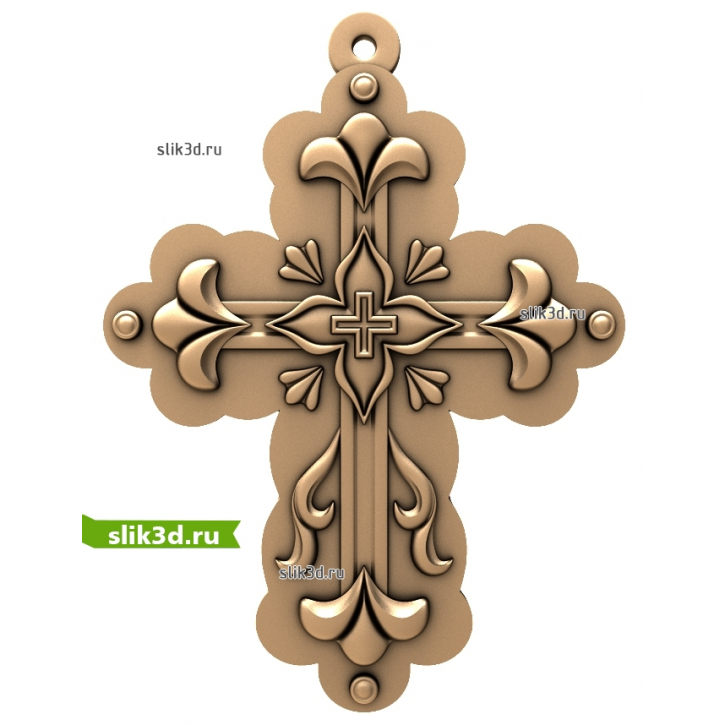 3D STL Крест №24