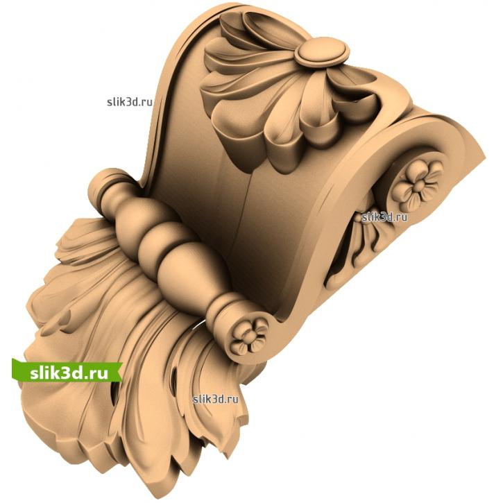 3D STL Кронштейн №49