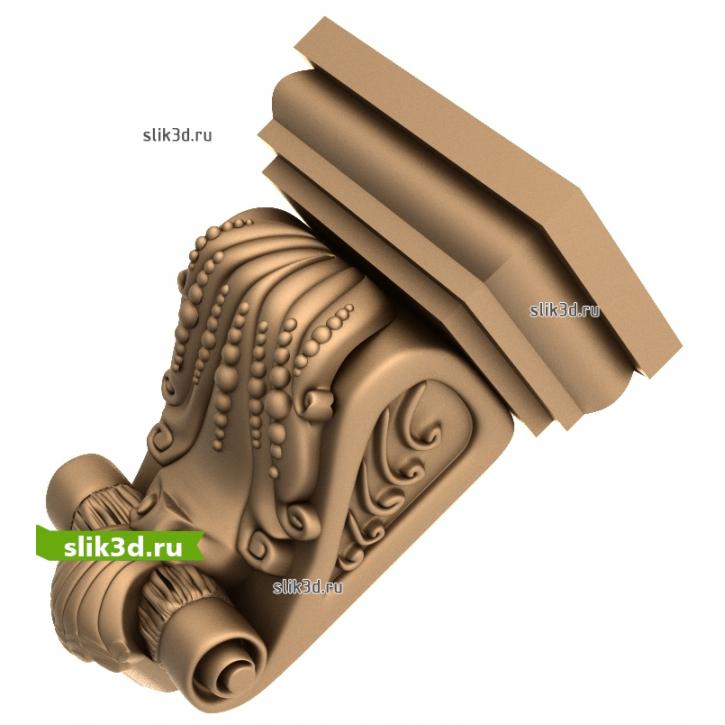 3D STL Кронштейн №18