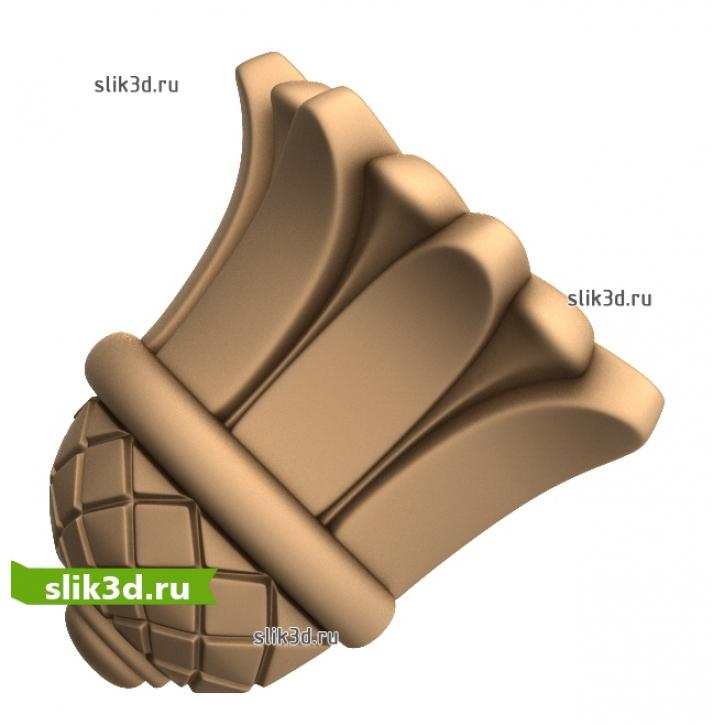 3D STL Кронштейн №56