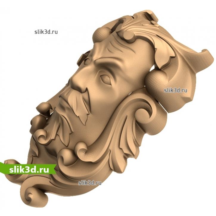 3D STL Кронштейн №62