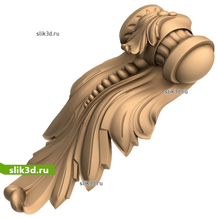 3D STL Кронштейн №64