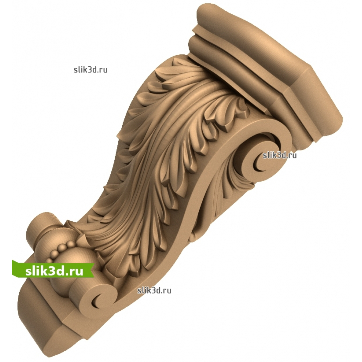3D STL Кронштейн №65