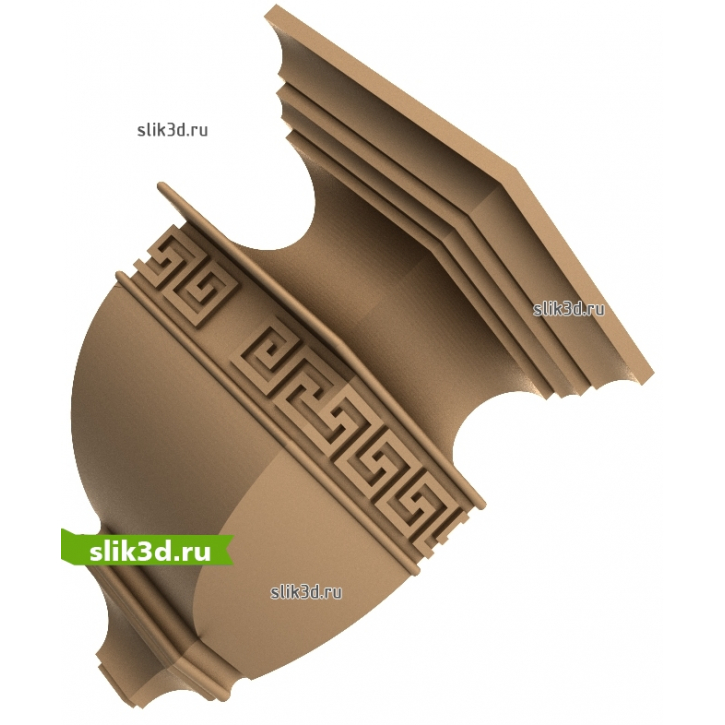 3D STL Кронштейн №70