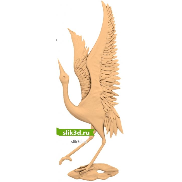 3D STL Птица