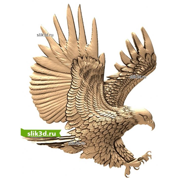 3D STL Орел